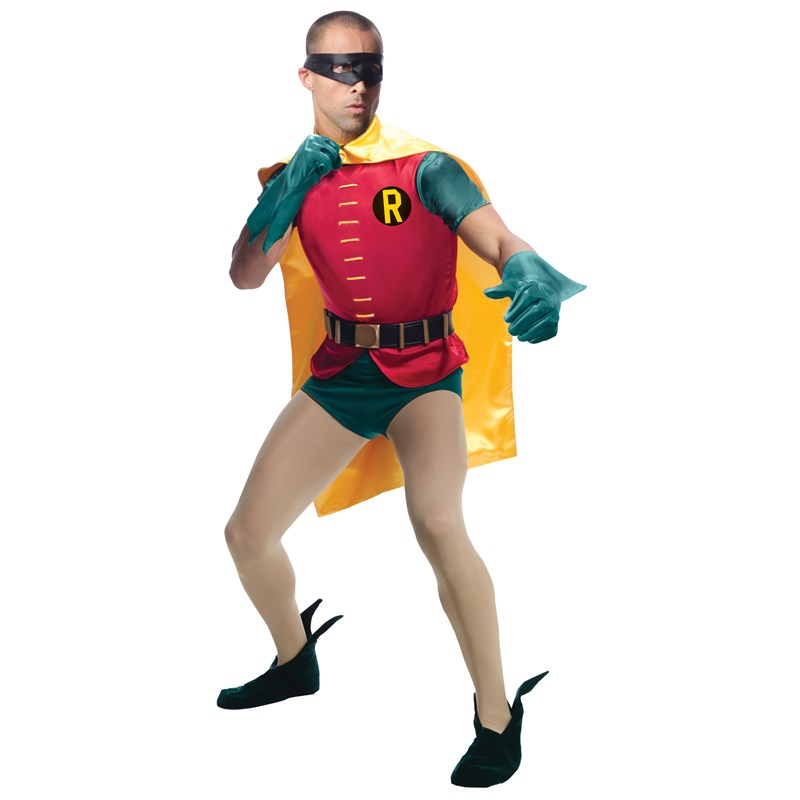 Batman Classic 1966 Series Grand Heritage Robin Adult Costume for the 2015 Costume season.