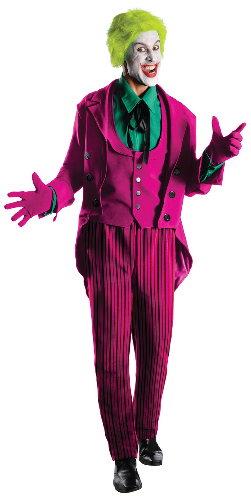 Batman Classic 1966 Series Grand Heritage The Joker Adult Costume