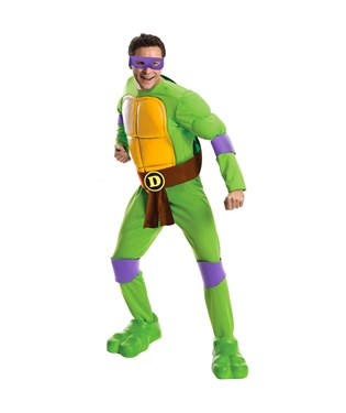 Teenage Mutant Ninja Turtles Deluxe Donatello Adult Costume