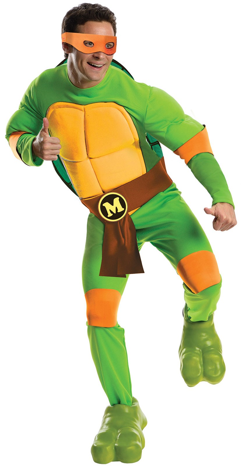 Teenage Mutant Ninja Turtles Deluxe Michelangelo Adult Costume