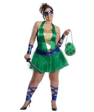 Teenage Mutant Ninja Turtles Leonardo Adult Plus Dress