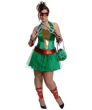 Teenage Mutant Ninja Turtles Raphael Adult Plus Dress