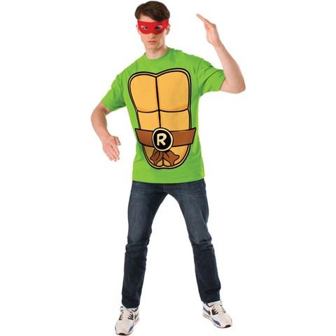 Teenage Mutant Ninja Turtles Raphael Adult T-Shirt Kit