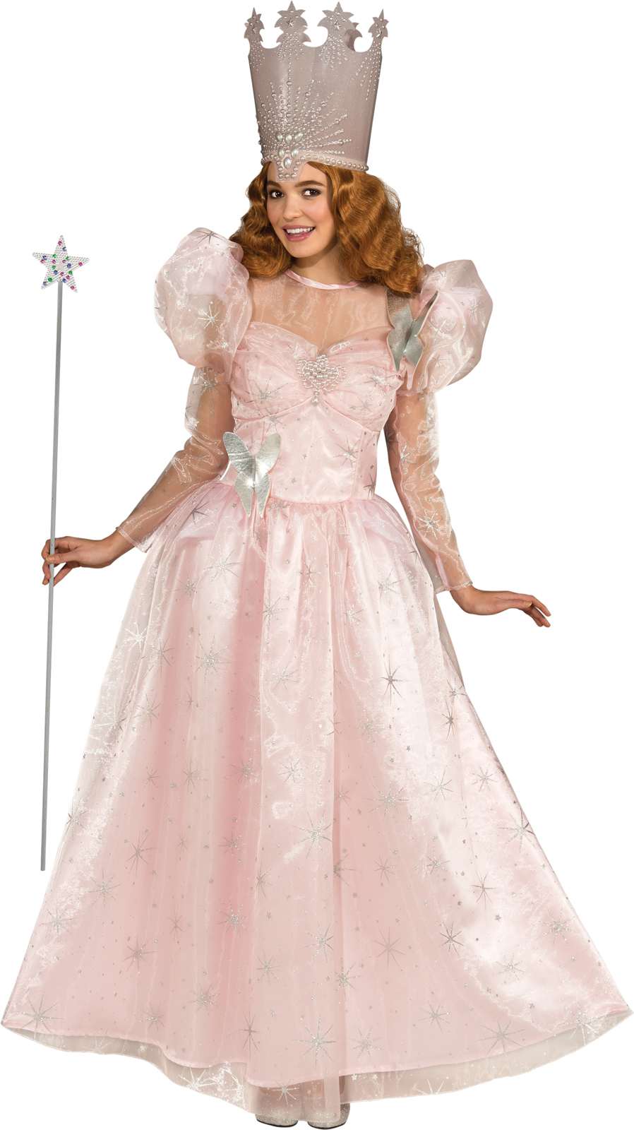 glinda the good witch crown template - wizard of oz deluxe glinda the good witch adult costume ebay