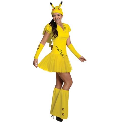 Pokemon Pikachu Adult Costume
