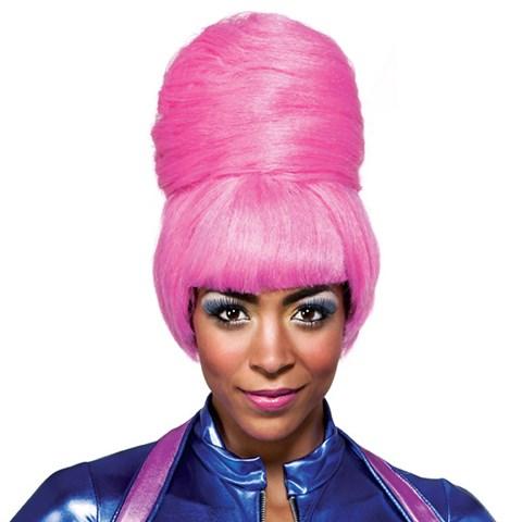 Nicki Minaj Pink Bun Adult Wig
