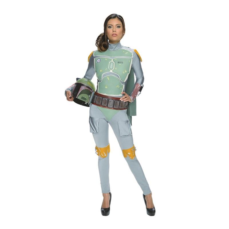 Star Wars Boba Fett Female Adult Bodysuit for the 2015 Costume season.