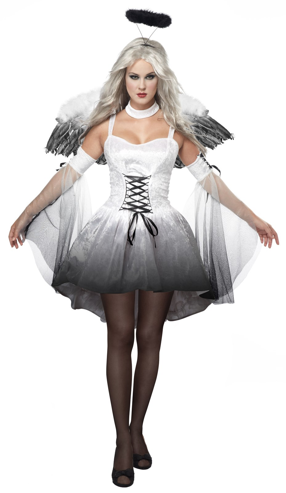 Image of Angel of Darkness Adult Costume
