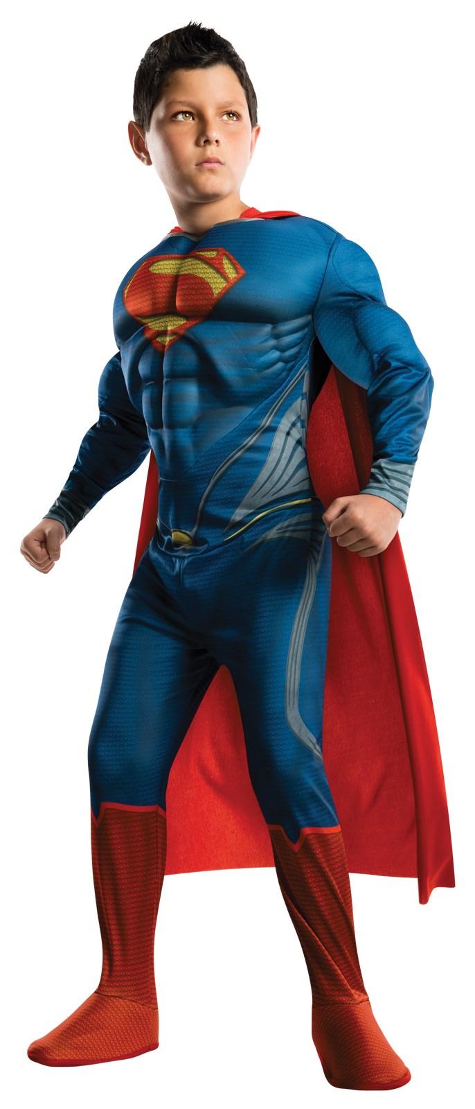 Superman Man of Steel Deluxe Toddler / Child Costume