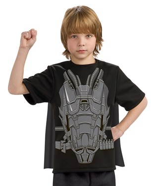 Superman Man of Steel General Zod Child Costume Top and Cape