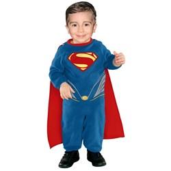 Superman Man of Steel Romper Newborn / Infant Costume