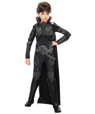 Superman Man of Steel Deluxe Faora Child Costume