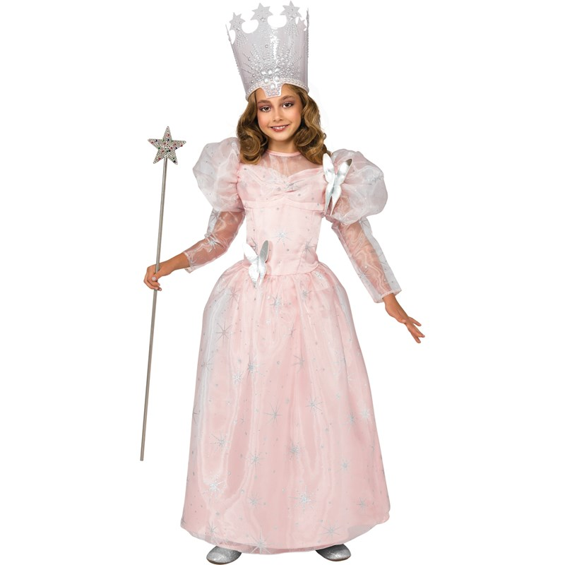 Wizard Of Oz Glinda The Good Witch Deluxe Child Costume for the 2015 Costume season.