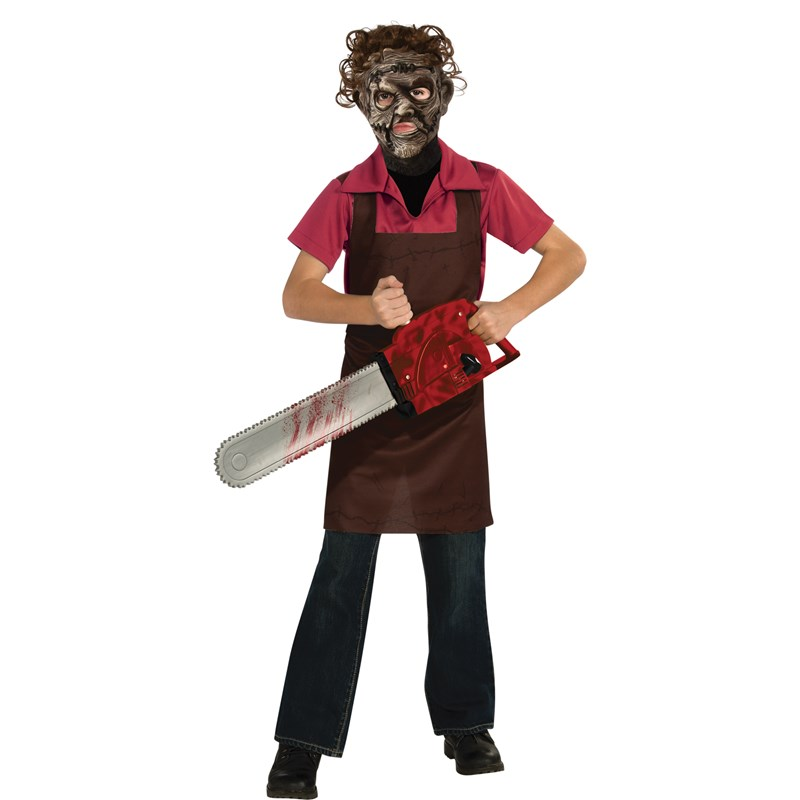Texas Chainsaw Massacre Leatherface Child Costume for the 2015 Costume season.