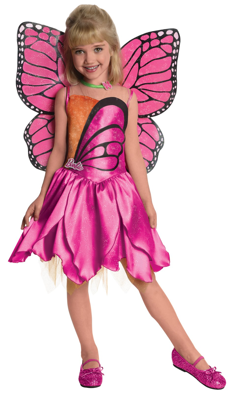 Image of Barbie-Deluxe Mariposa Toddler / Child Costume