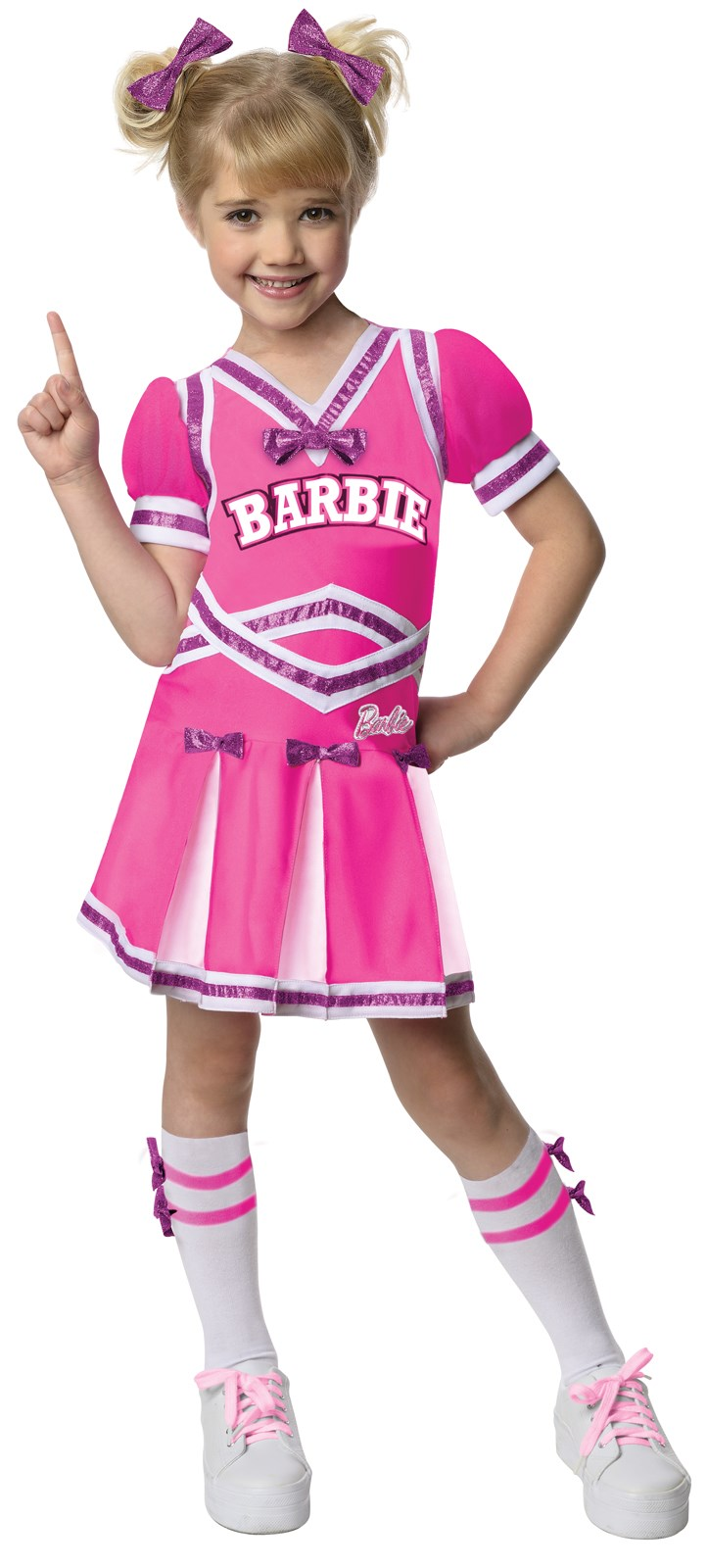 Image of Barbie - Cheerleader Toddler / Child Costume