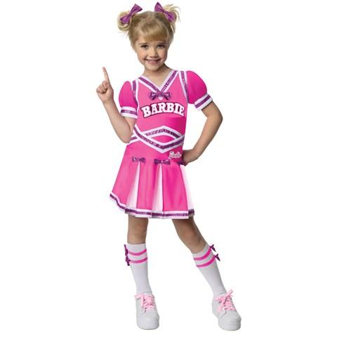 Barbie - Cheerleader Toddler / Child Costume