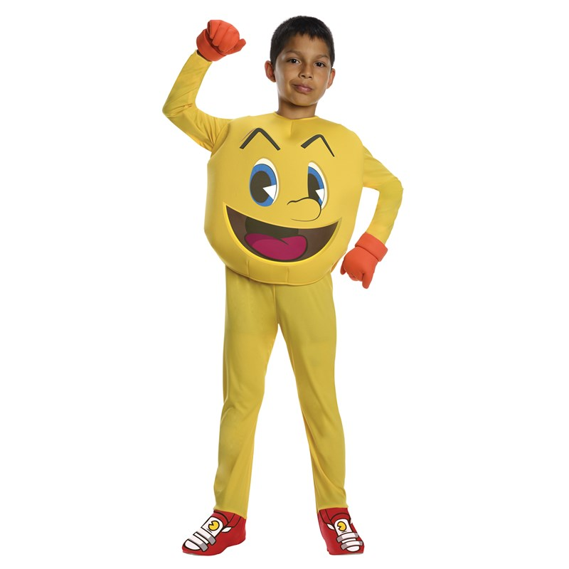 Pac Man Child Costume for the 2015 Costume season.