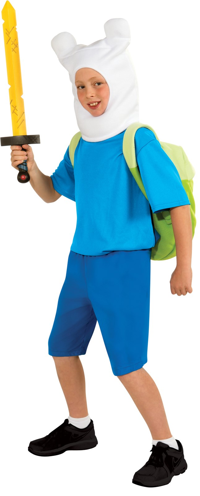 Image of Adventure Time - Finn Deluxe Child Costume