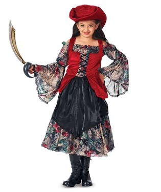 Trick or Treat Pirate Girls Costume