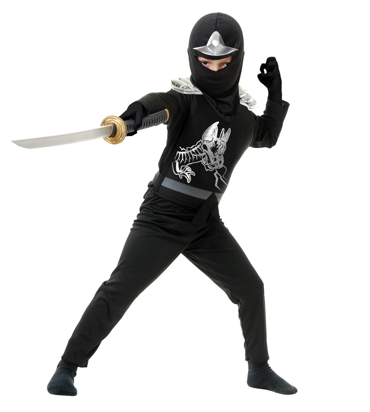 Image of Black Ninja Avengers Series II Toddler Costume