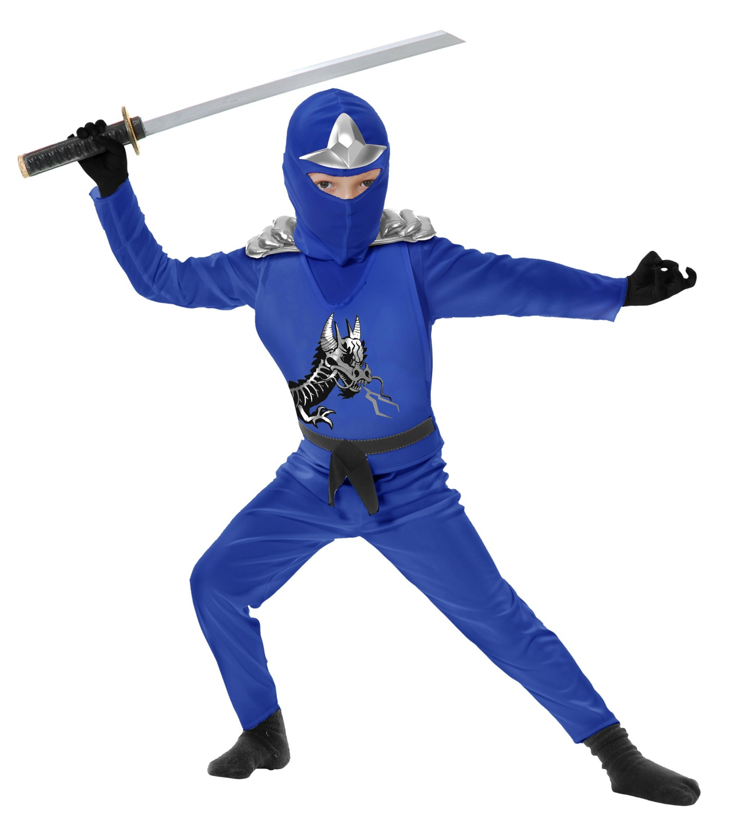 Blue Ninja Avengers Series II Toddler Costume