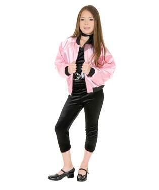 Pink Satin Ladies Kids Jacket