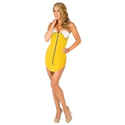 Sexy Banana Adult Costume - Clearance Sizes M and L