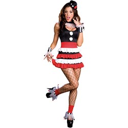 Sexy Cirque Adult Costume - Clearance Sizes L and XL