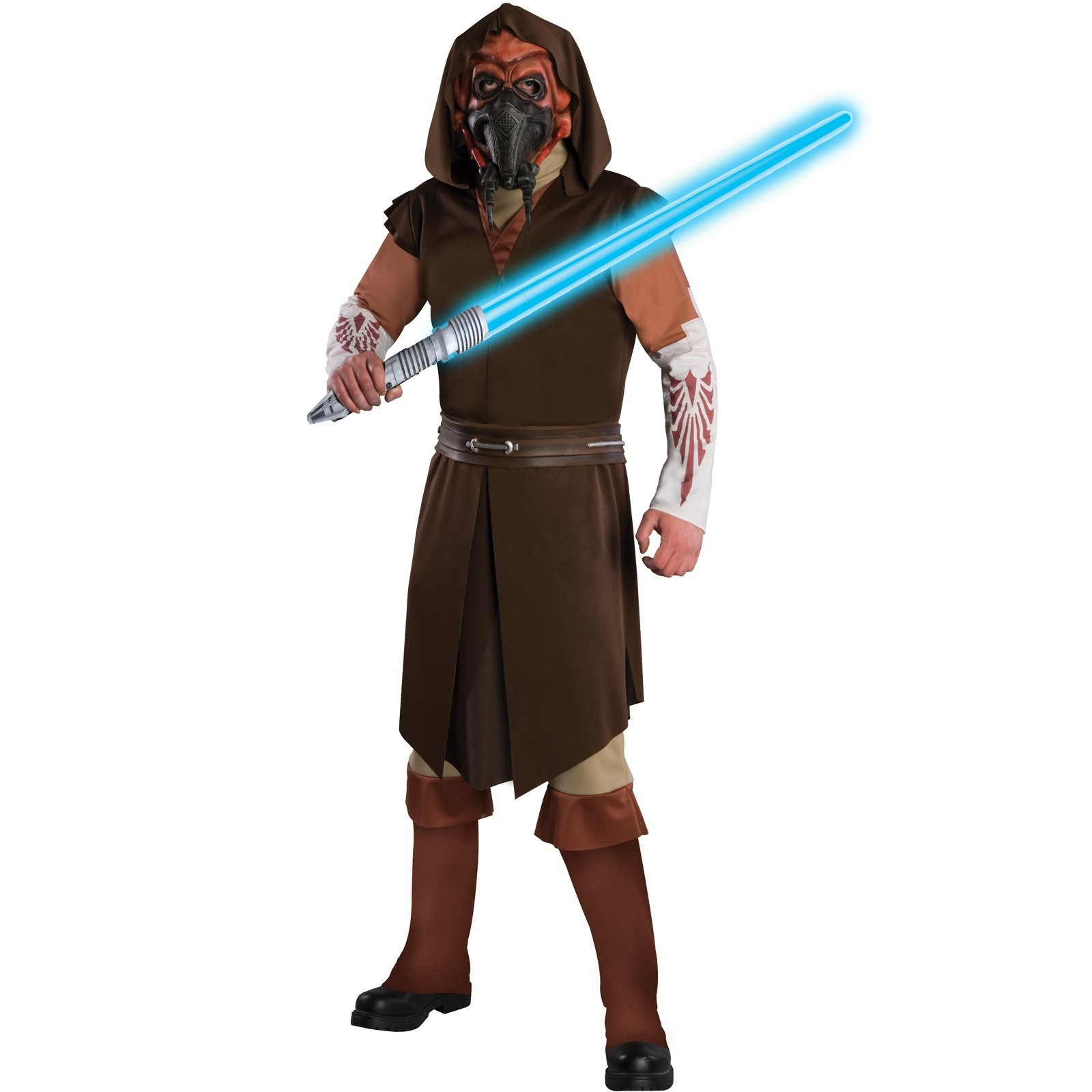 Star Wars Clone Wars Deluxe Plo Koon Adult Costume – Clearance Size XL
