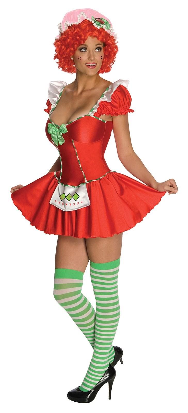 Strawberry Shortcake Adult Costume - Clearance Size XS