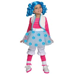 Lalaloopsy Deluxe Mittens Fluff N Stuff Toddler / Child Costume