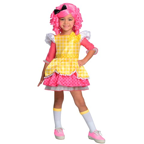 Lalaloopsy Deluxe Crumbs Sugar Cookie Toddler / Child Costume