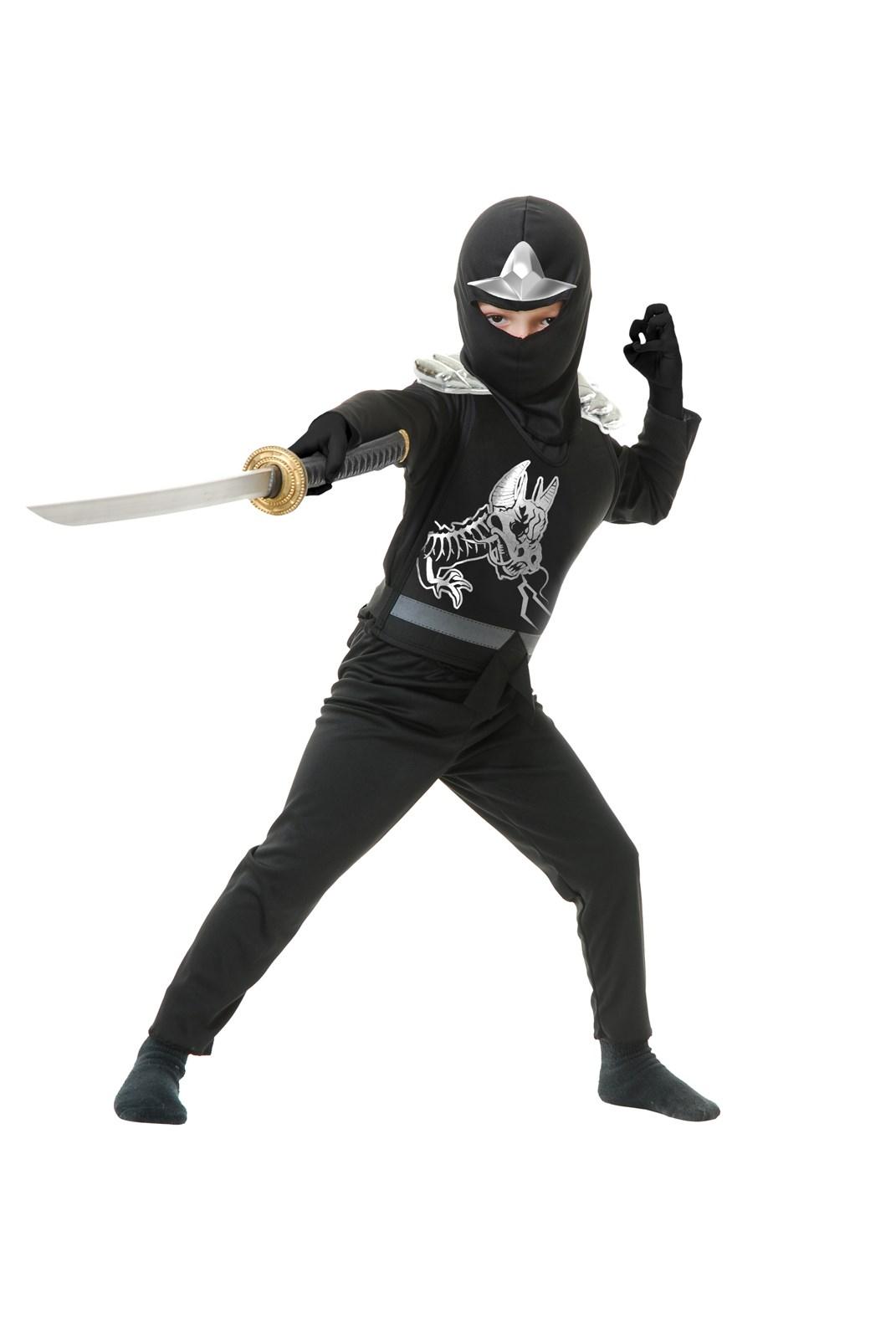 Image of Black Ninja Avengers Series II Child Costume