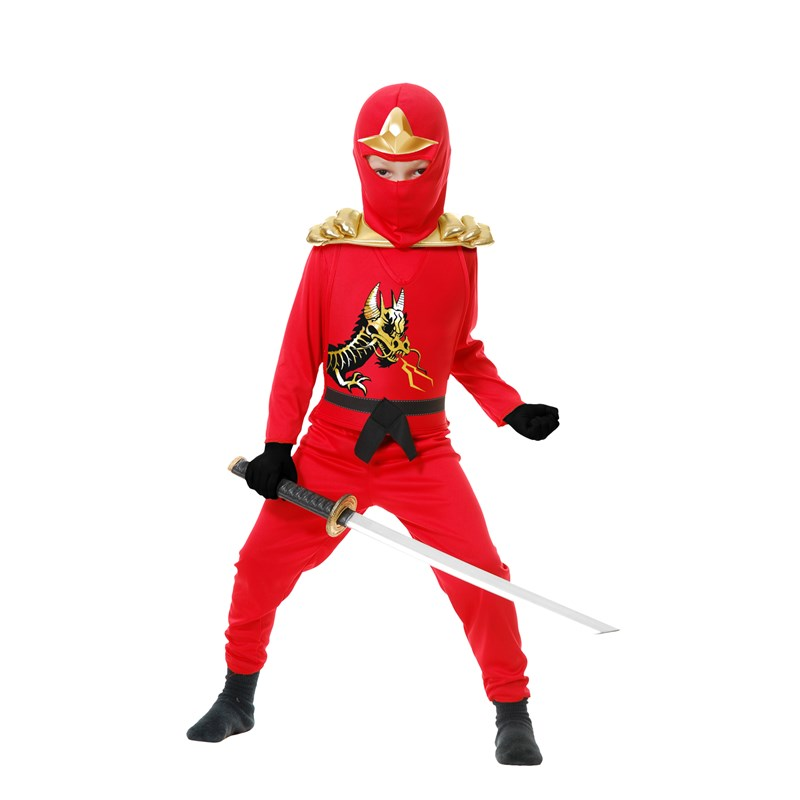 Red Ninja Avengers Series II Child Costume for the 2015 Costume season.