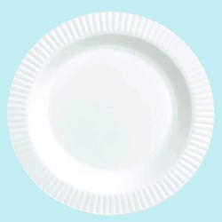 White Premium Plastic Dessert Plates (32 count)