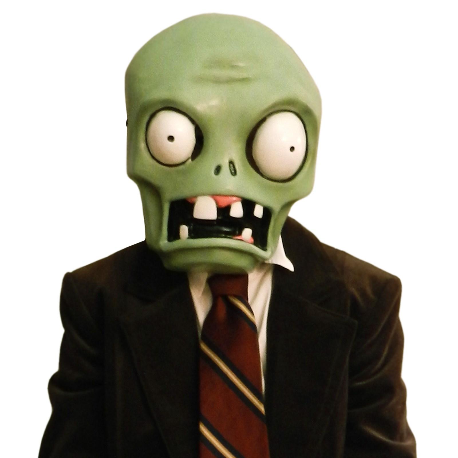 Plants vs. Zombies Basic Zombie Plastic Mask