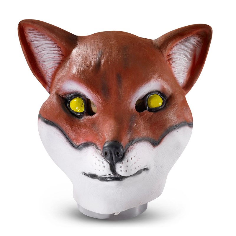 Latex Fox Mask (Adult) for the 2015 Costume season.