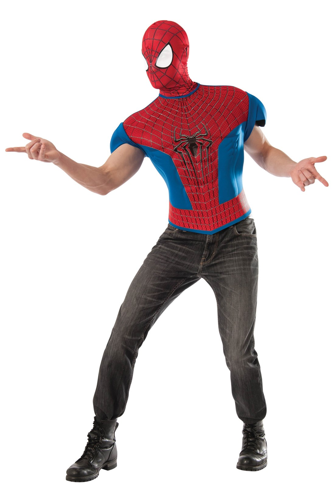 The Amazing Spider-Man 2 Muscle Shirt Costume Kit Adult