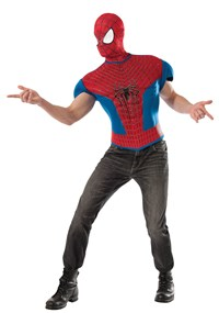 Click Here to buy The Amazing Spider-Man 2 Muscle Shirt Costume Kit  from BuyCostumes