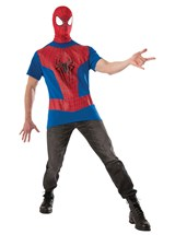 Click Here to buy The Amazing Spider-Man 2 Costume Kit Adult from BuyCostumes