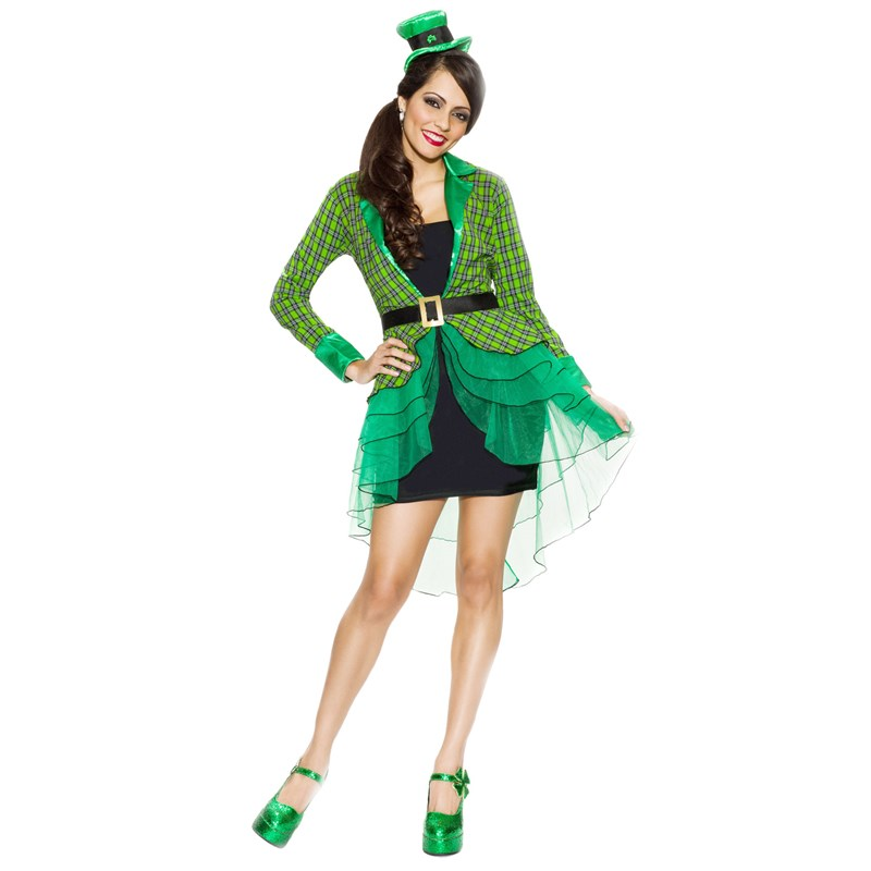 Lucky Lass Adult Plus Costume for the 2015 Costume season.