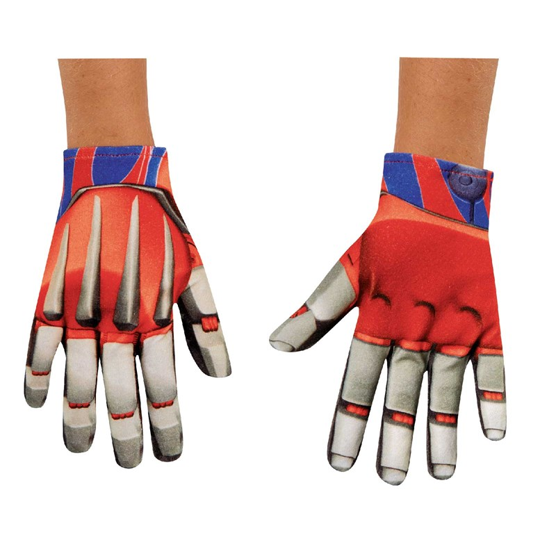 Transformers 4 Age of Extinction Optimus Prime Child Gloves for the 2015 Costume season.