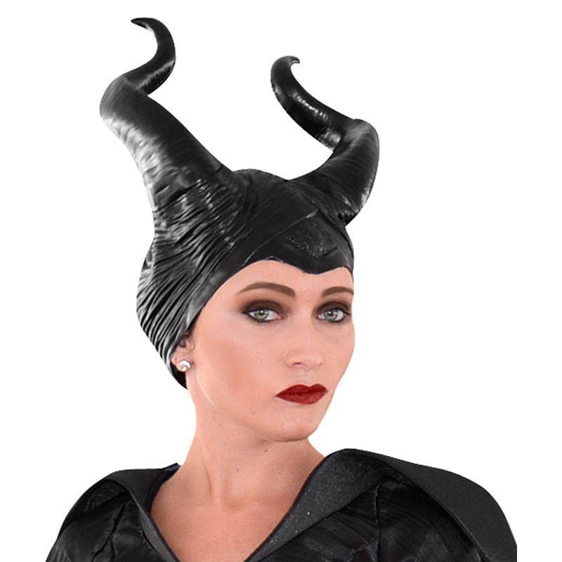 Disney Maleficent   Vinyl Horns Deluxe Headpiece for the 2015 Costume season.