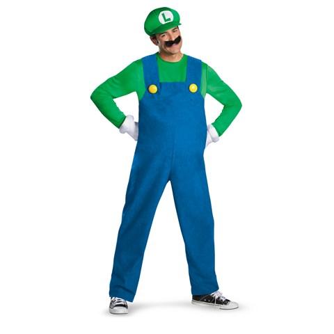 Super Mario Brothers - Luigi Adult Costume