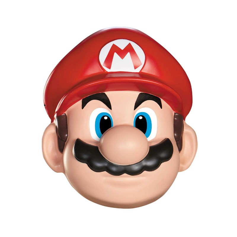 Super Mario Brothers   Mario Mask for the 2015 Costume season.