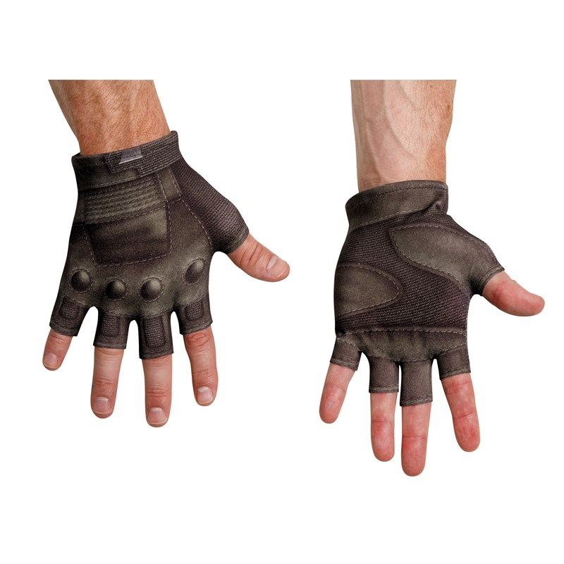 Captain America The Winter Soldier   Adult Captain America Gloves for the 2015 Costume season.