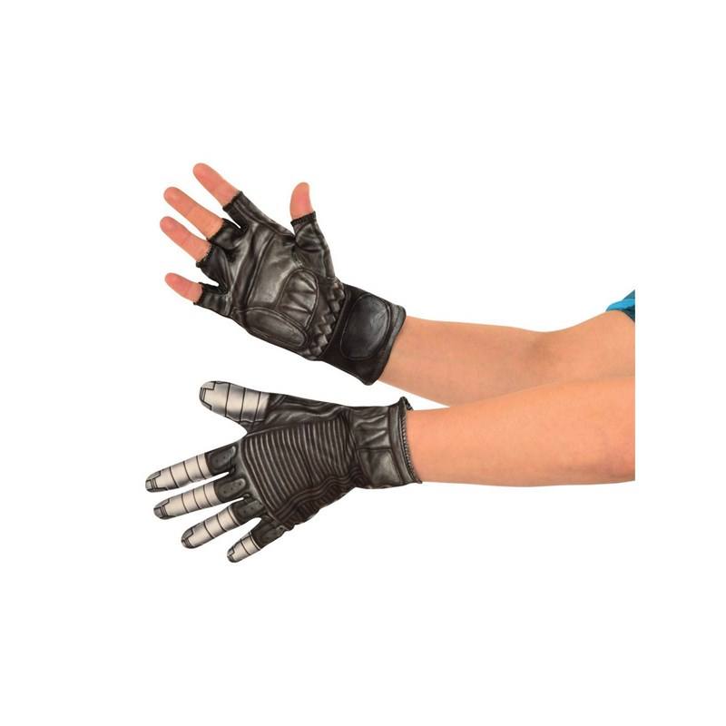Captain America The Winter Soldier   Adult Winter Soldier Gloves for the 2015 Costume season.