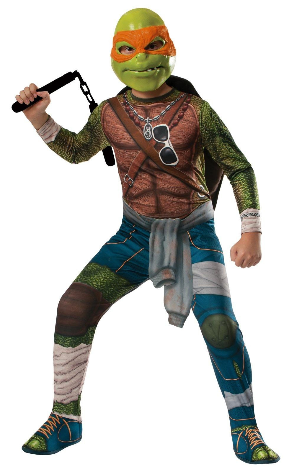 Teenage Mutant Ninja Turtle Movie – Deluxe Michelangelo Adult Costume