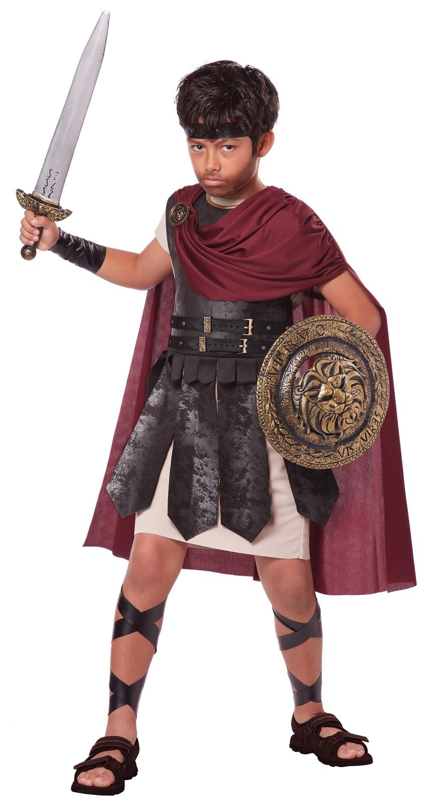 Spartan Warrior Child Costume